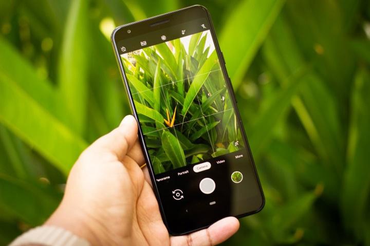 Camera sau của điện thoại Google Pixel 3a XL chính hãng