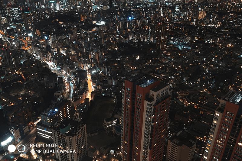 Điện thoại Xiaomi Redmi Note 7 3GB/32GB | Ảnh chụp ban đêm