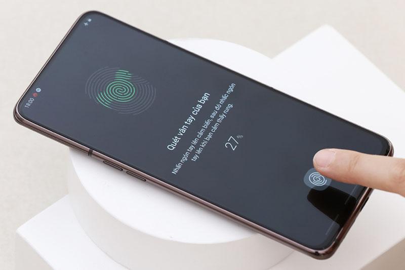Điện thoại Samsung Galaxy A80 | Cảm biến vân tay trong màn hình