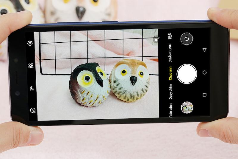 Điện thoại Itel P33 | Giao diện chụp ảnh
