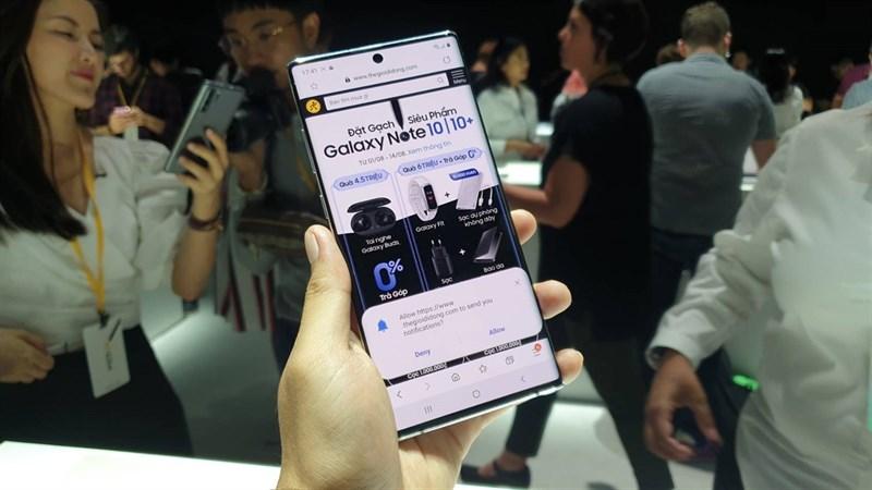 Điện thoại Samsung Galaxy Note 10 Plus 5G | Thời lượng pin