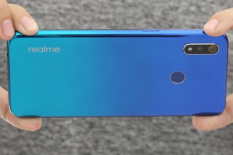Camera sau của điện thoại Realme 3 64GB chính hãng