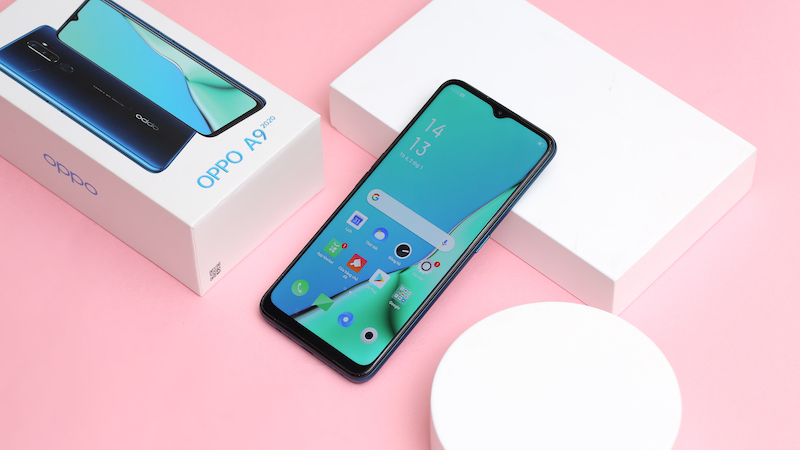 Điện thoại smartphone OPPO A9 2020 | Thiết kế màn hình giọt nước