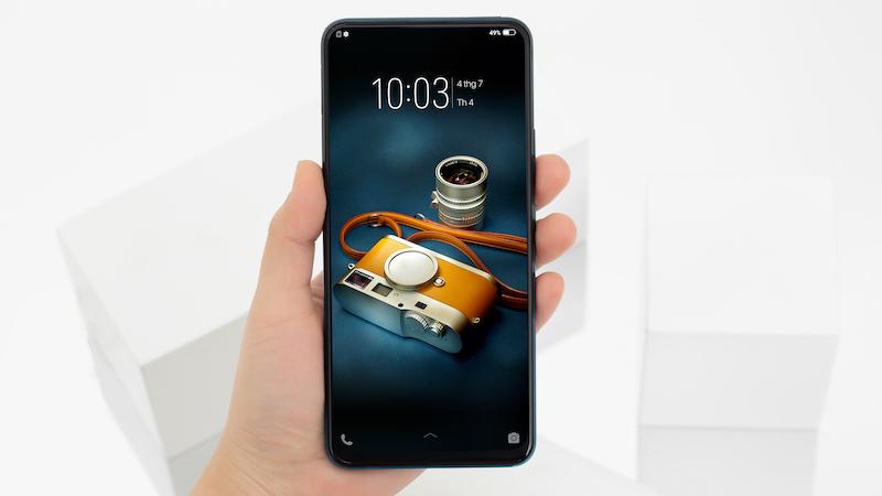Cấu hình của điện thoại Vivo V15 chính hãng
