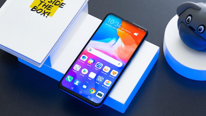 Điện thoại Huawei Y9 Prime 2019 | Thiết kế màn hình