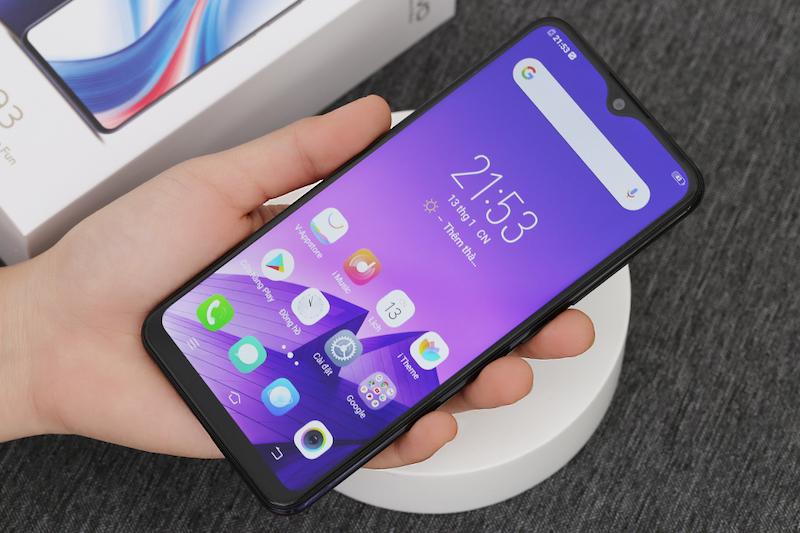 Điện thoại smartphone Vivo Y93 | Trải nghiệm chất lượng màn hình