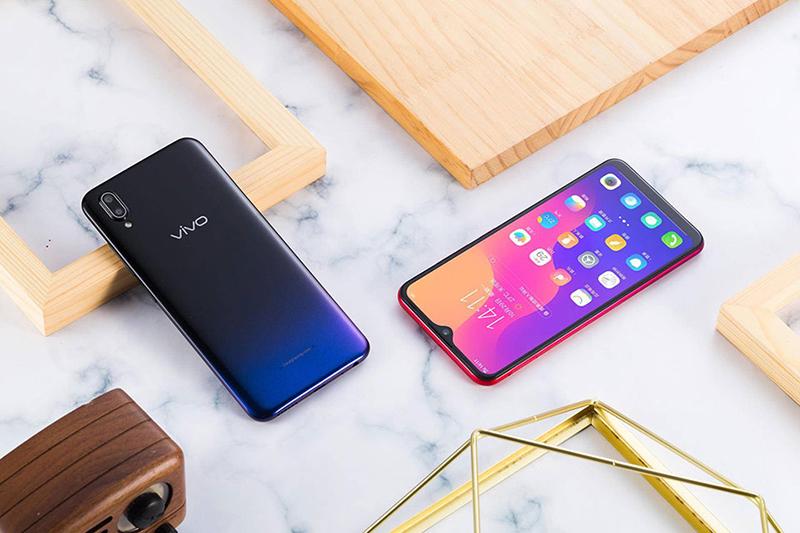 Màn hình của điện thoại Vivo Y93 32GB chính hãng
