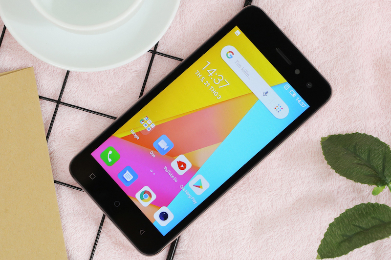 Điện thoại Itel A33   Giao diện Android