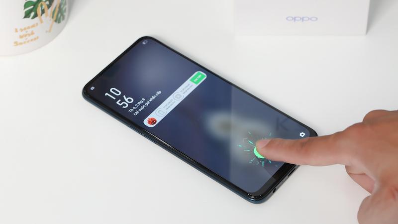 Điện thoại smartphone OPPO K3 | Trang bị vân tay dưới màn hình