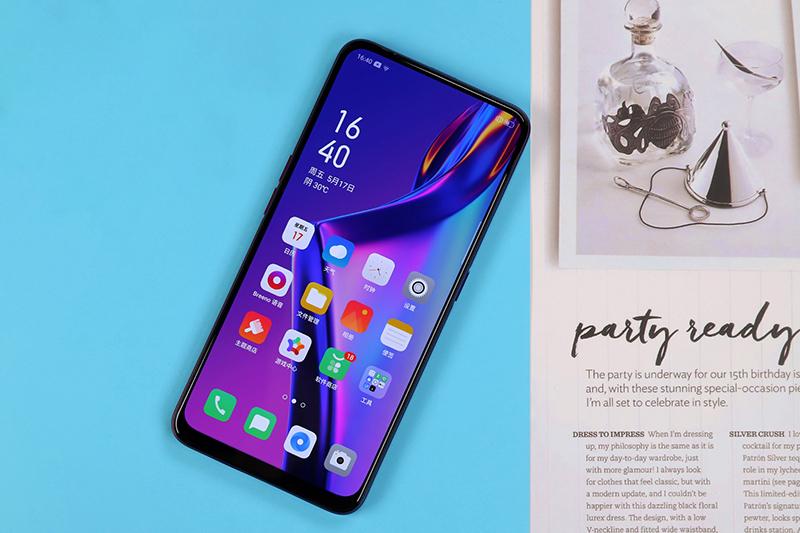 Màn hình của điện thoại OPPO K3 chính hãng