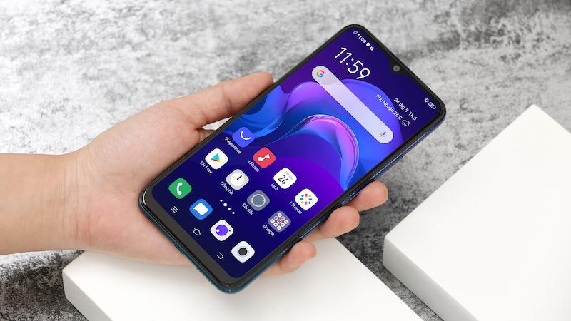 Điện thoại smartphone Vivo Y15 | Trải nghiệm pin khủng