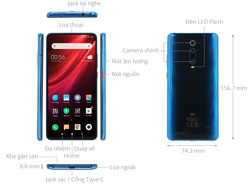Xiaomi Mi 9T (6GB/64GB)