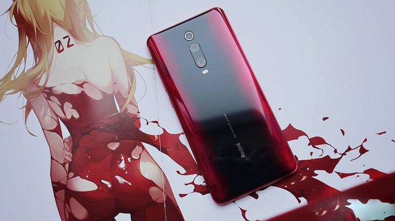 Thiết kế của điện thoại Xiaomi Redmi K20 chính hãng