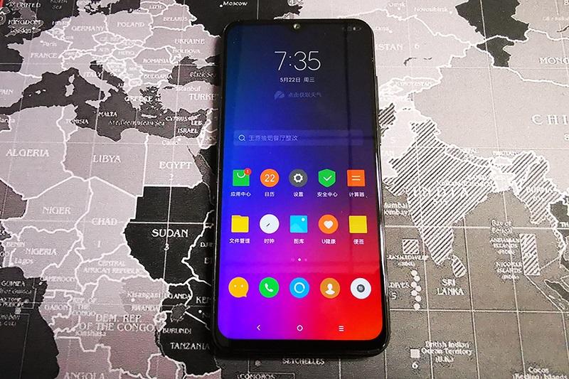Màn hình của điện thoại Lenovo Z6 Youth Edition chính hãng