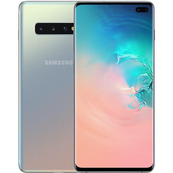 Điện thoại Samsung Galaxy S10+ 128GB Bạc Đa Sắc