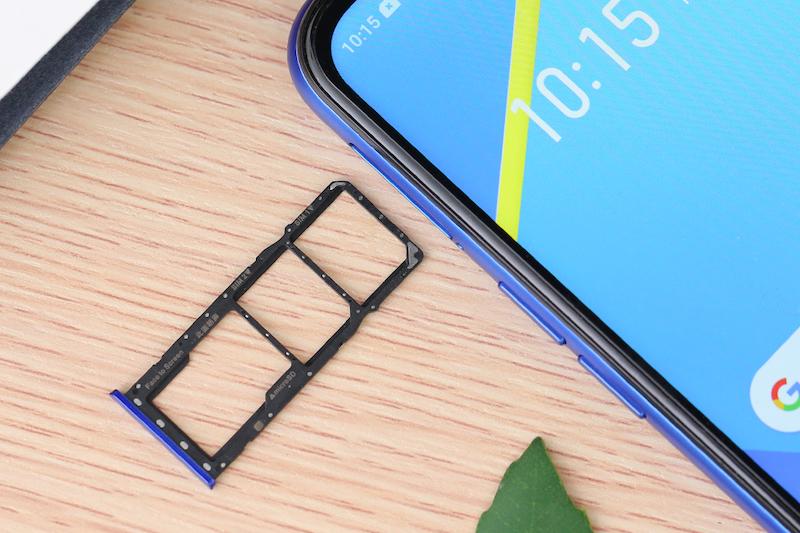 Điện thoại smartphone Realme C2 | Khe sim thẻ nhớ