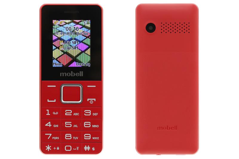 Điện thoại giá rẻ Mobell M229 2019 | Thiết kế