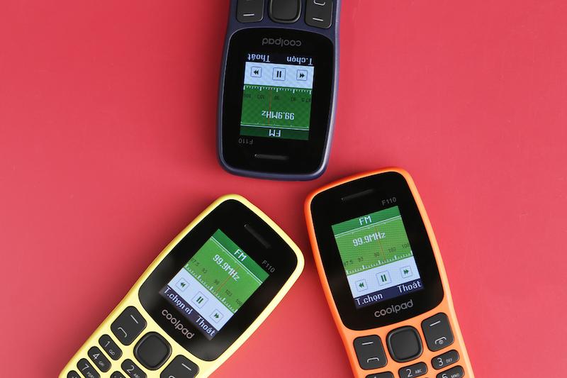 Điện thoại nghe gọi Coolpad F110 | Nghe Radio