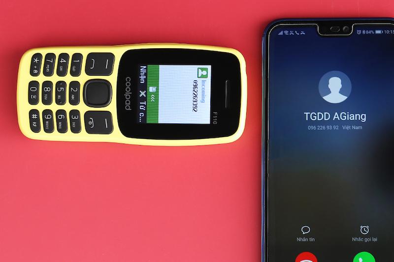 Điện thoại nghe gọi Coolpad F110 | Bluetooth Partner