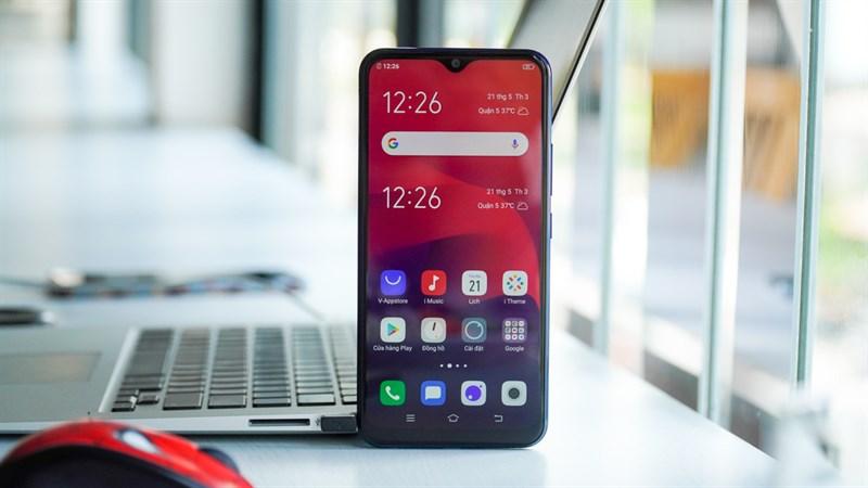 Thiết kế của điện thoại Vivo Y12 chính hãng
