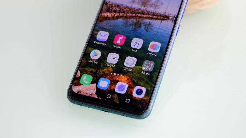 Màn hình của điện thoại Vivo Y12 chính hãng