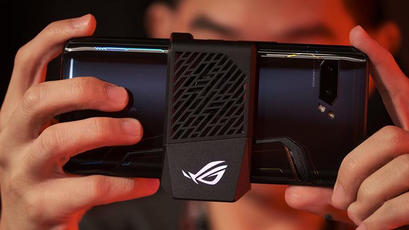 Điện thoại ASUS ROG Phone 2 | Những trang bị dành riêng cho game thủ
