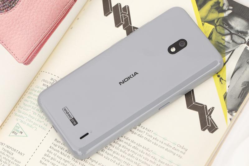 Điện thoại smartphone Nokia 2.2 | Thiết kế mặt lưng