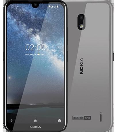 Màn hình của điện thoại Nokia 2.2 chính hãng