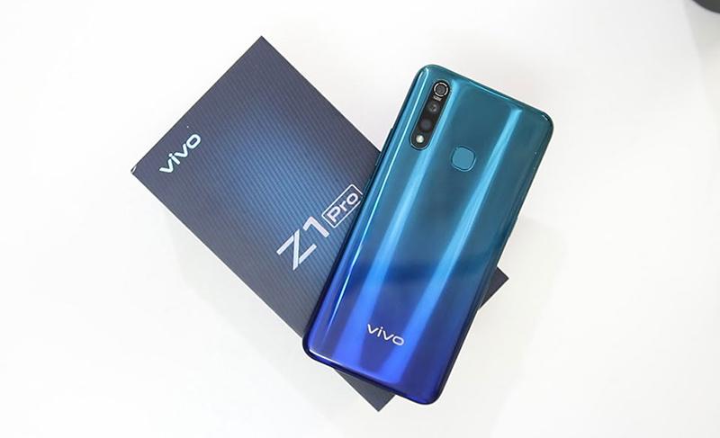 Điện thoại Vivo Z1 Pro | Thiết kế