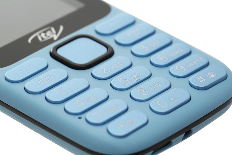 Điện thoại phổ thông Itel it5025 | Thiết kế bàn phím T9