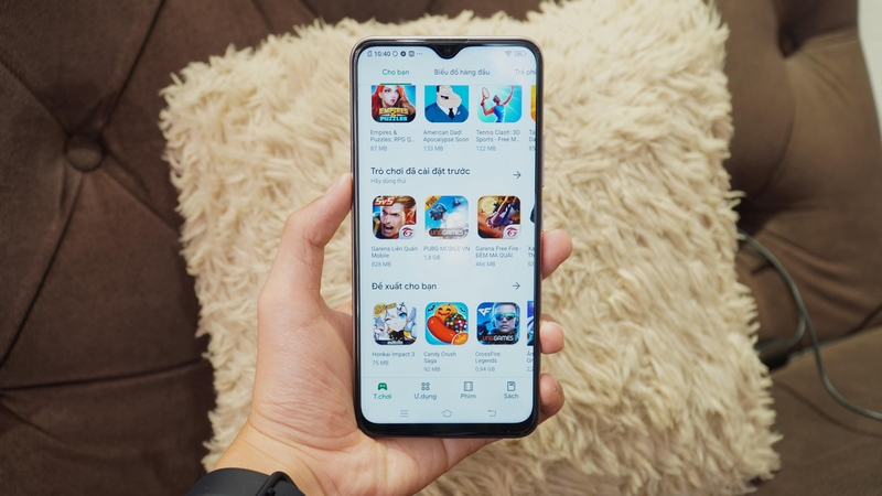 Điện thoại Vivo Y19 | Giao diện màn hình