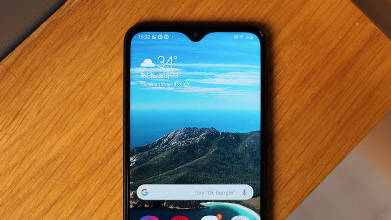 Điện thoại Samsung Galaxy A10s | Camera trước