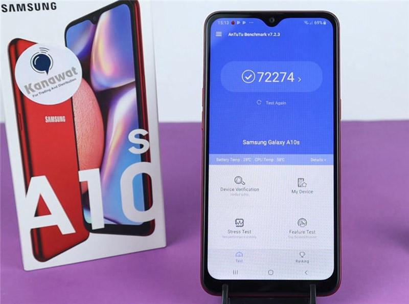 Điện thoại Samsung Galaxy A10s | Điểm hiệu năng Antutu Benchmark