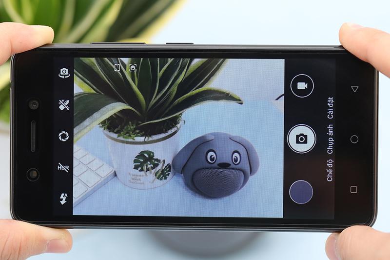 Điện thoại Itel Alpha Lite | Giao diện chụp ảnh