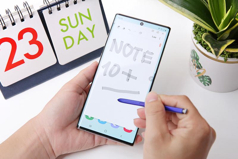 Điện thoại Samsung Galaxy Note 10+ |Trải nghiệm Bút S-Pen