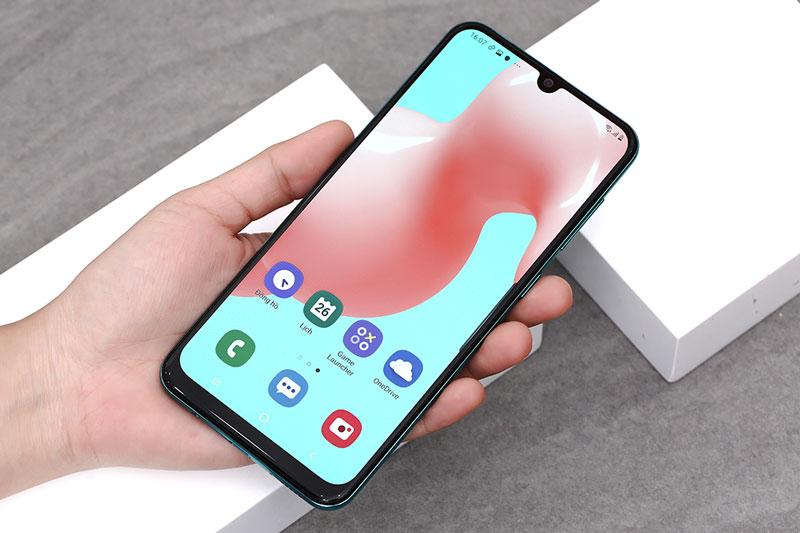 Điện thoại Samsung Galaxy A50s chính hãng | Thiết kế mặt trước