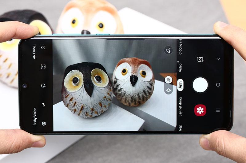 Điện thoại Samsung Galaxy A50s chính hãng | Giao diện camera sau