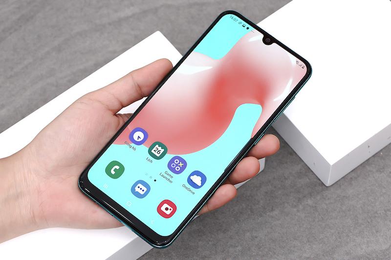 Điện thoại Samsung Galaxy A50s | Khả năng hiển thị màn hình