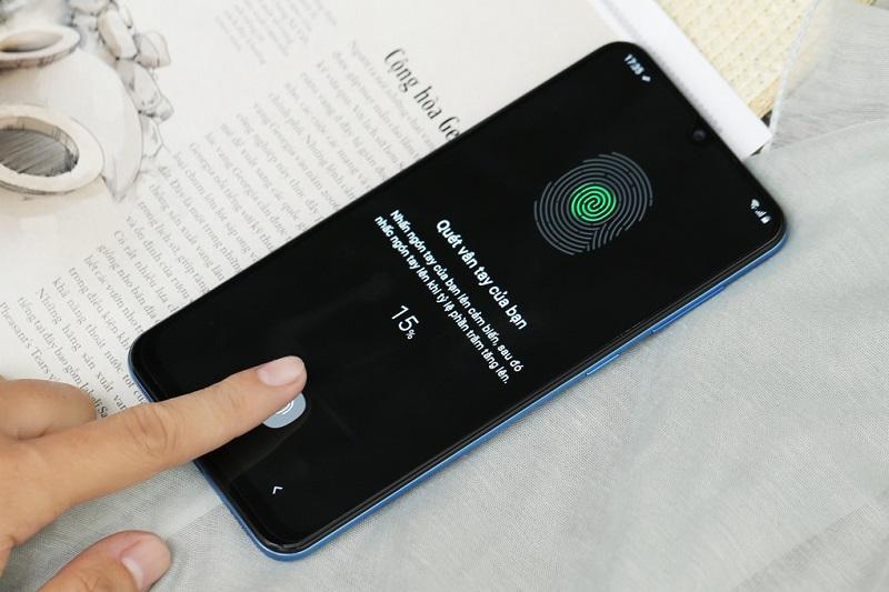 Điện thoại Samsung Galaxy A50s | Cảm biến vân tay