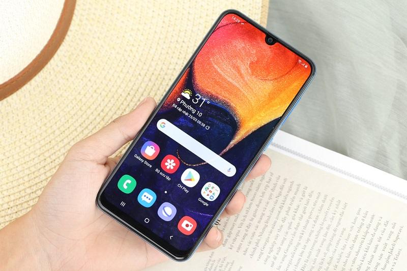 Điện thoại Samsung Galaxy A50s | Màn hình