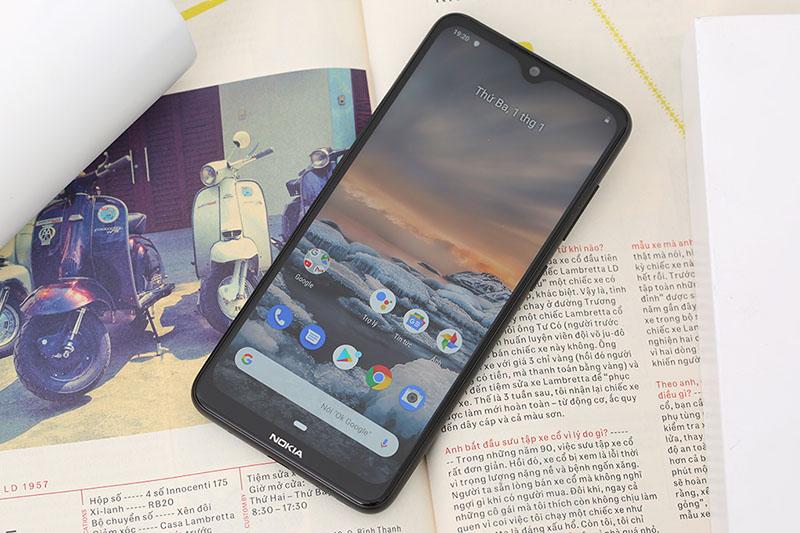Điện thoại Nokia 7.2 | Giao diện màn hình chính