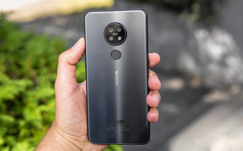 Trên tay điện thoại Nokia 7.2