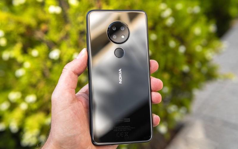 Thiết kế điện thoại Nokia 7.2
