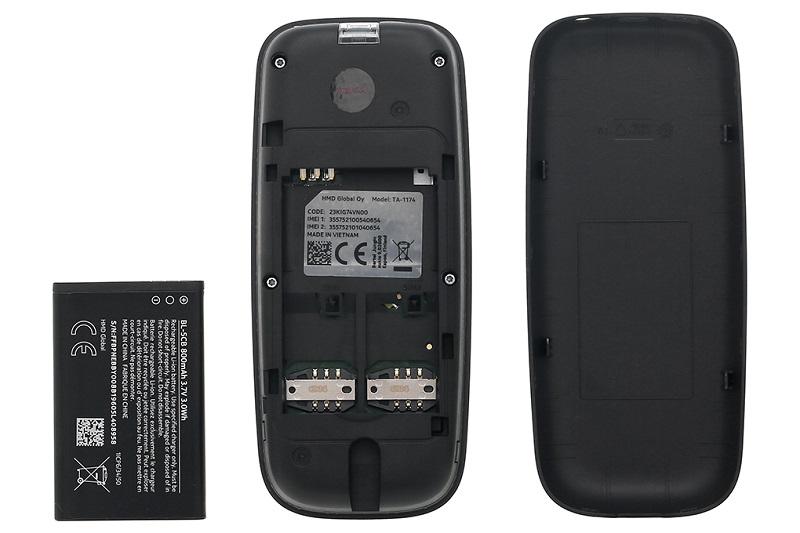 Điện thoại Nokia 105 Dual (2019) | Thời lượng pin