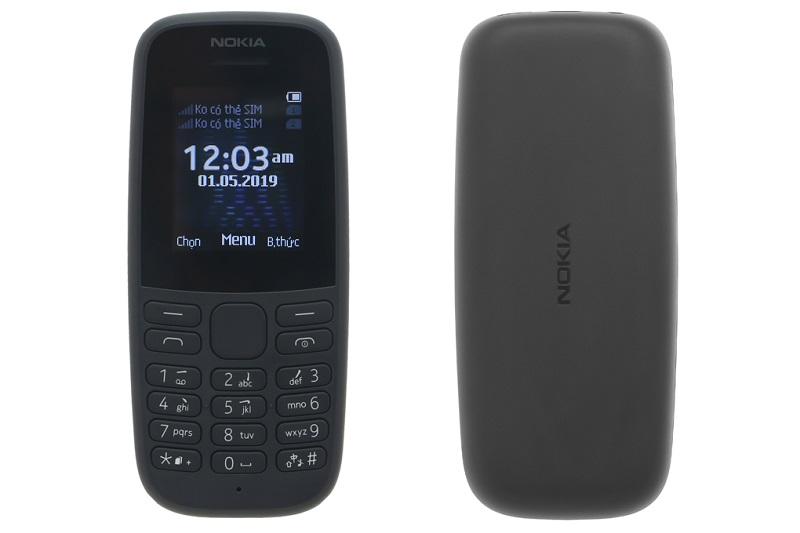 Điện thoại Nokia 105 Dual (2019) | Thiết kế