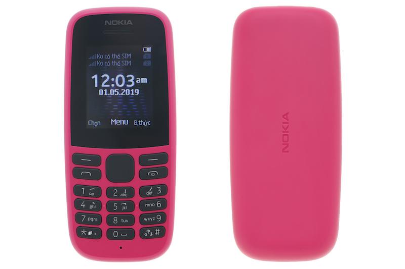 Điện thoại cơ bản nghe gọi Nokia 105 2019 | Tổng thiết kế máy