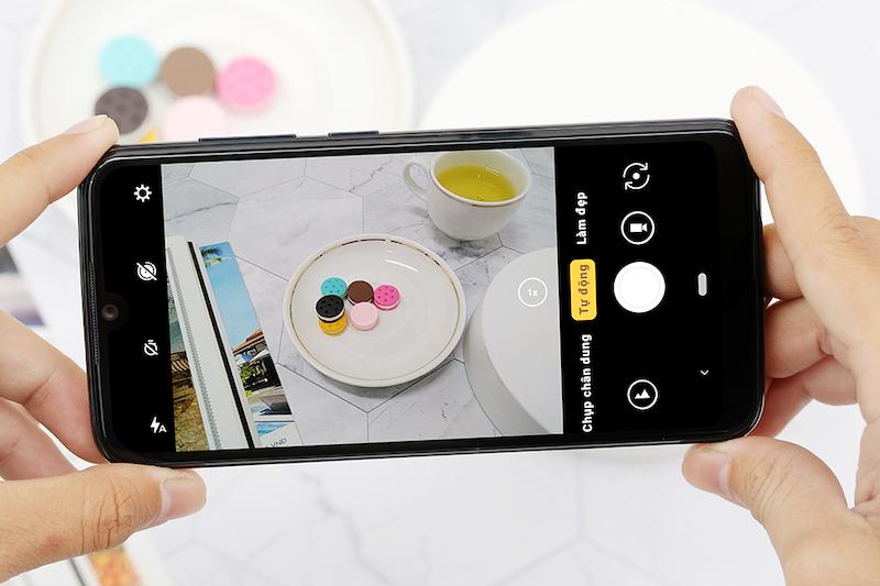 Điện thoại Vsmart Star | Giao diện camera