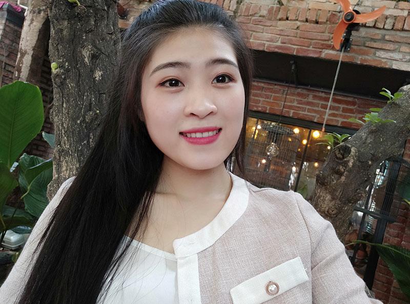 Điện thoại Xiaomi Redme Note 8 | Ảnh chụp selfie bằng camera trước