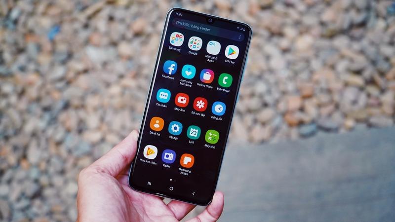 Điện thoại Samsung Galaxy A90 5G | Cảm biến vân tay