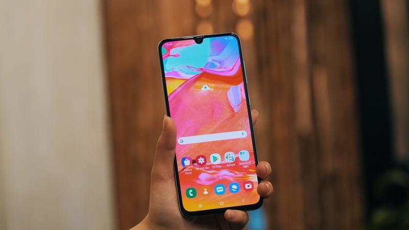Điện thoại Samsung Galaxy A90 5G | Kết nối 5G